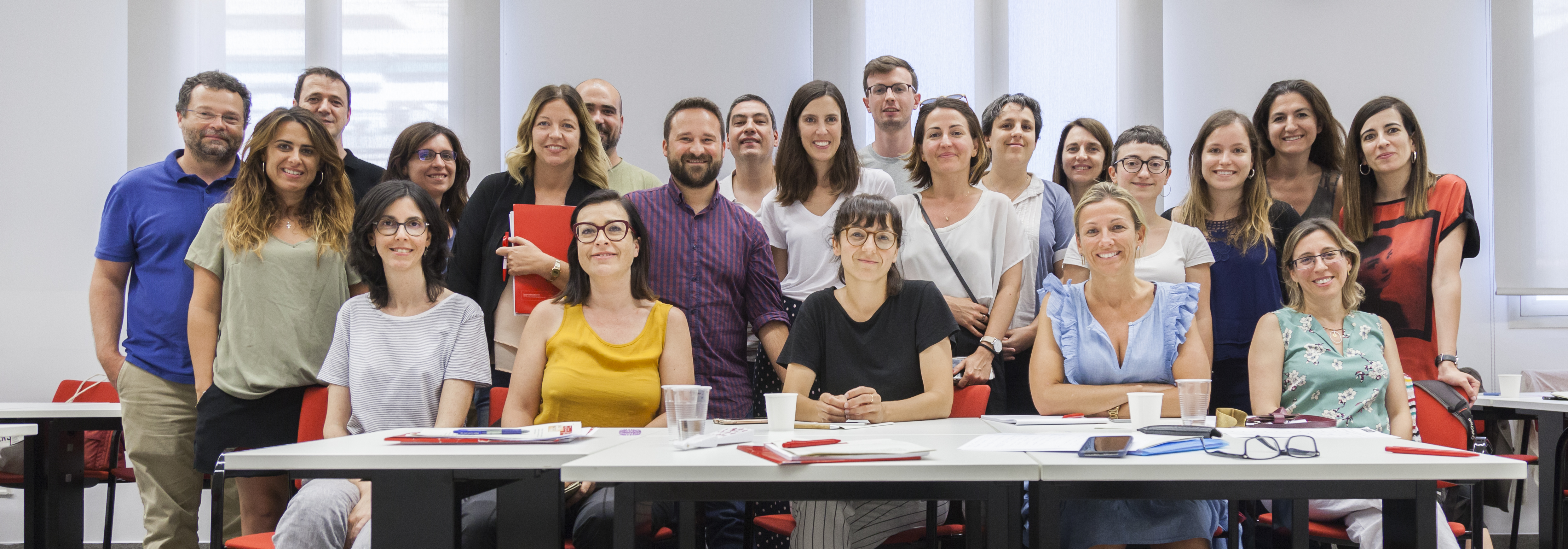 Participantes curso comunicación crisis