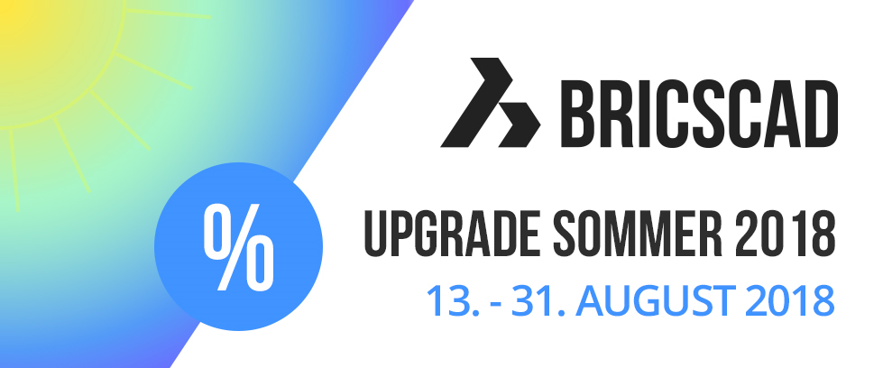 BricsCAD Upgrade Sommer
