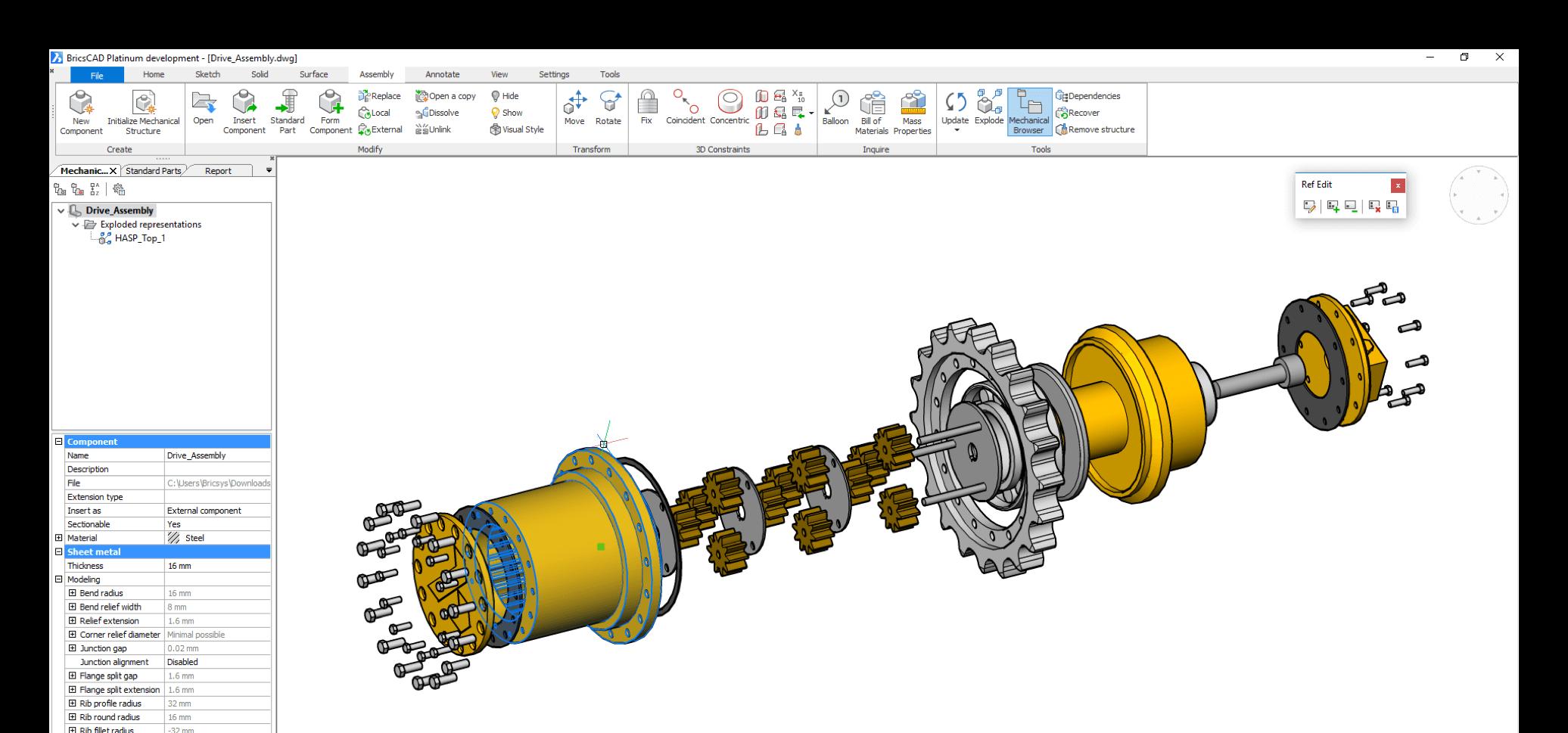mechanical-ui-screenshot