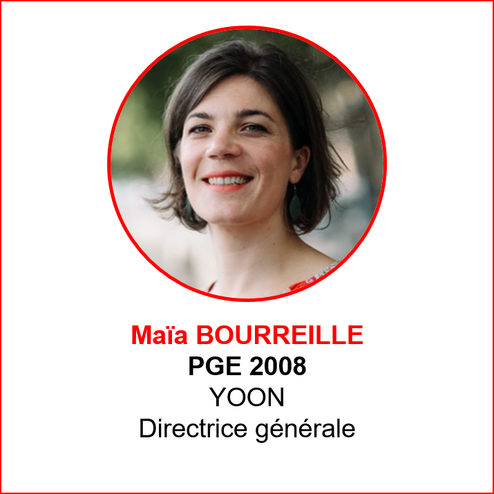 Maia Bourreille - alumni makers awards 2019 - emlyon forever