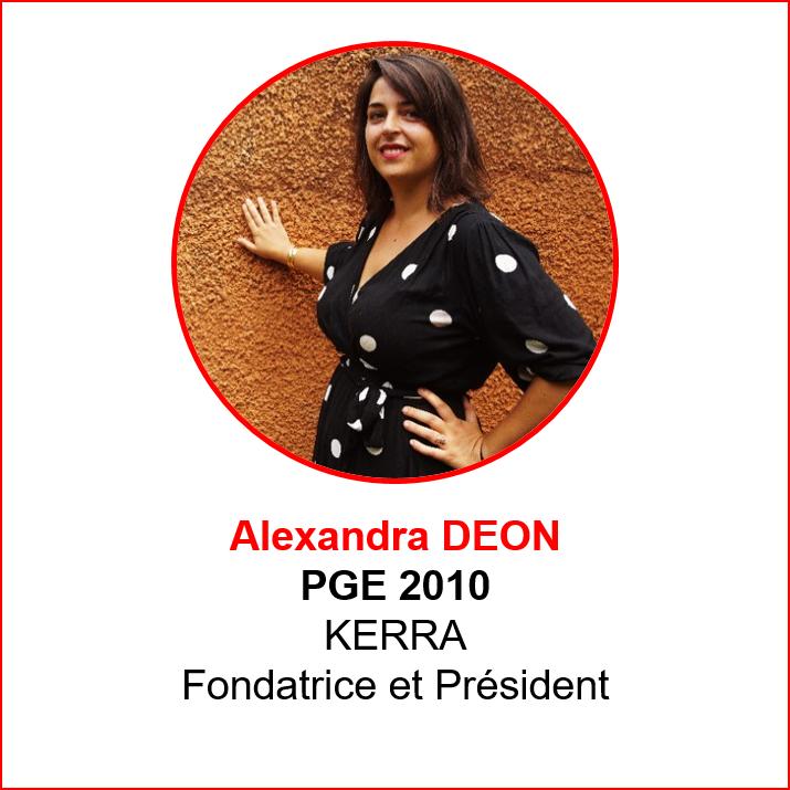 Alexandra Deon - alumni makers awards 2019 - emlyon forever