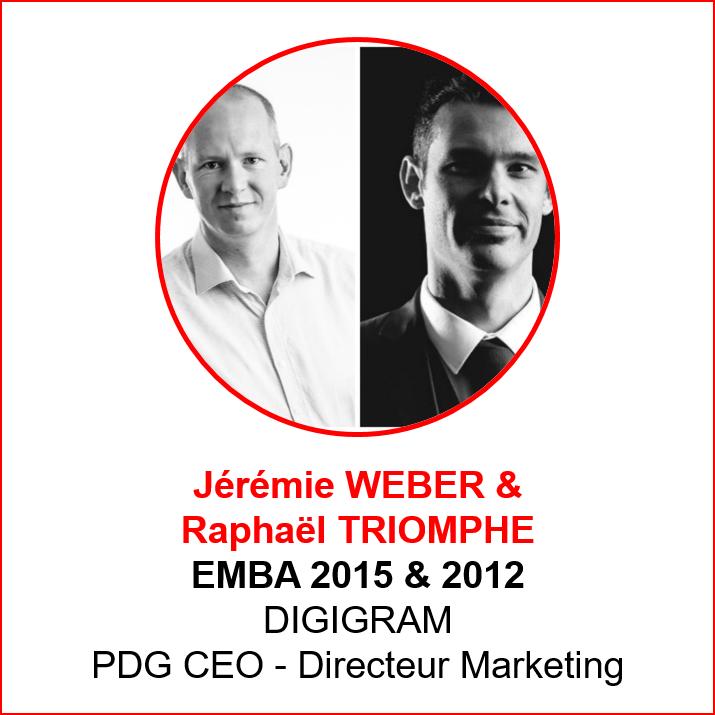 Jeremie Weber et Raphael Triomphe - alumni makers awards 2019 - emlyon forever