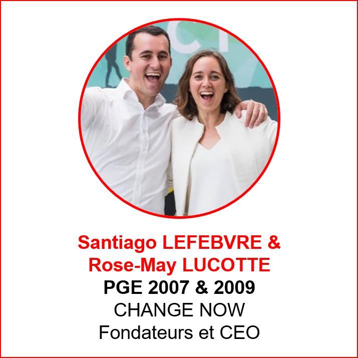 Santiago Lefebvre et Rose-May Lucotte - alumni makers awards 2019 - emlyon forever