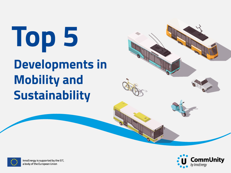 InnoEnergy CommUnity   Top 5 Developments In Mobility and