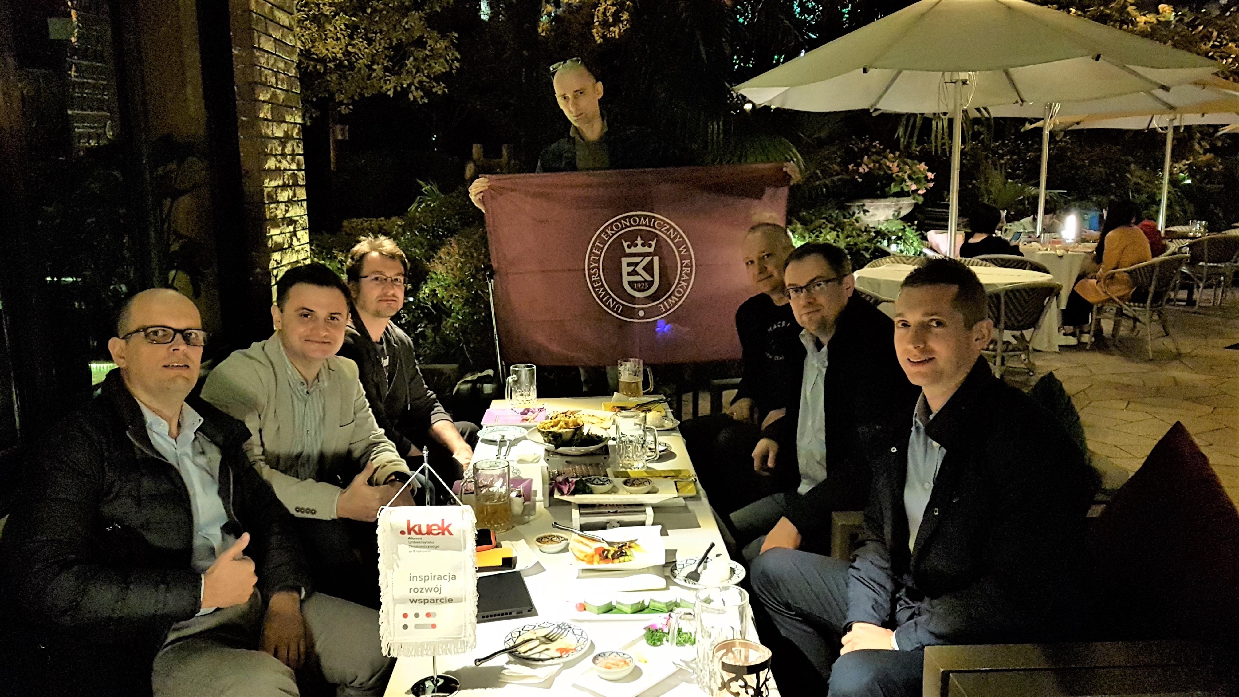 Alumni UEK - spotkanie 30.10.2019 w Szanghaju, Chiny