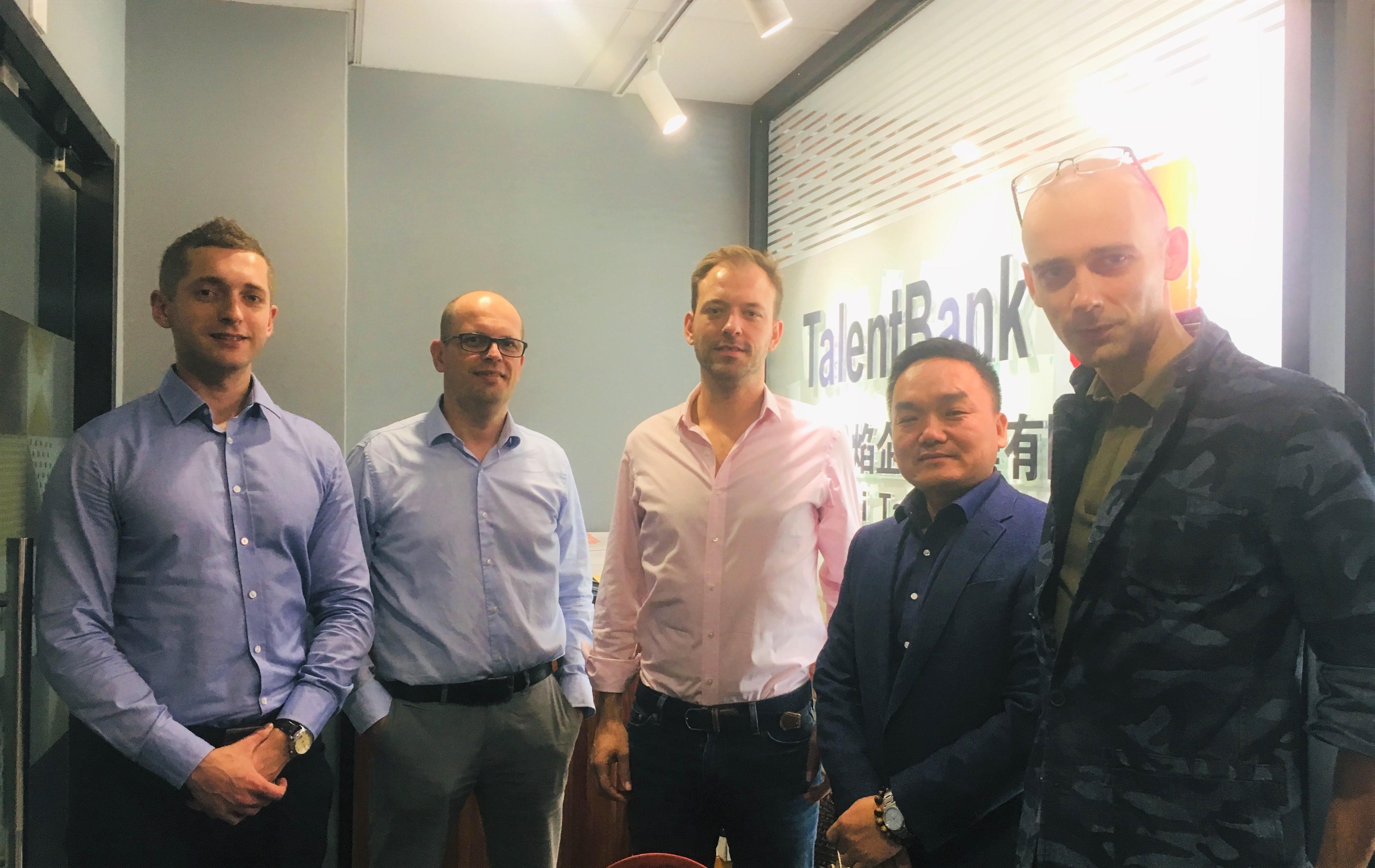 Ekipa w TalentBank China
