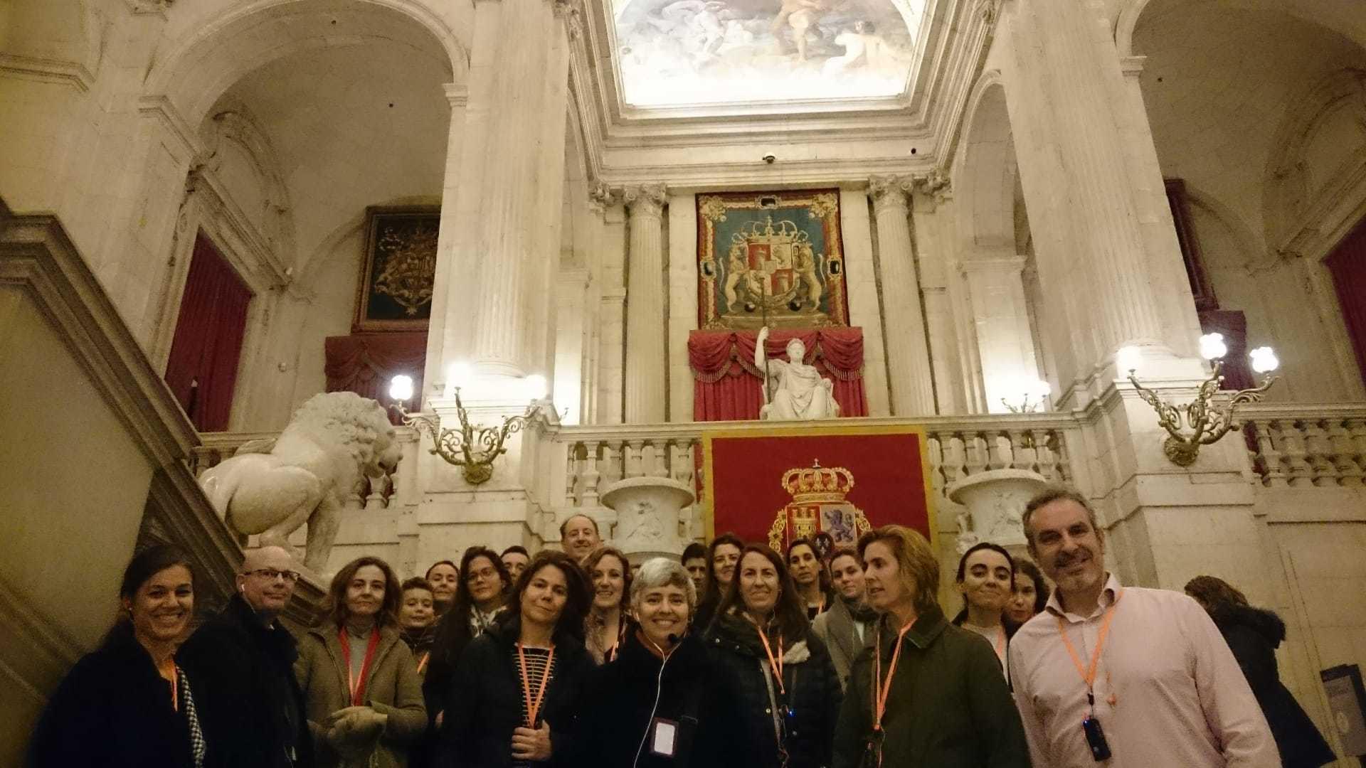 Cunef Alumni visita el Palacio Real
