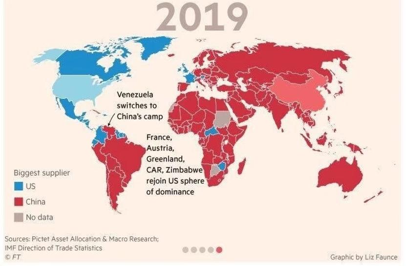 Gdzie Chiny wygrywają handlowo z USA