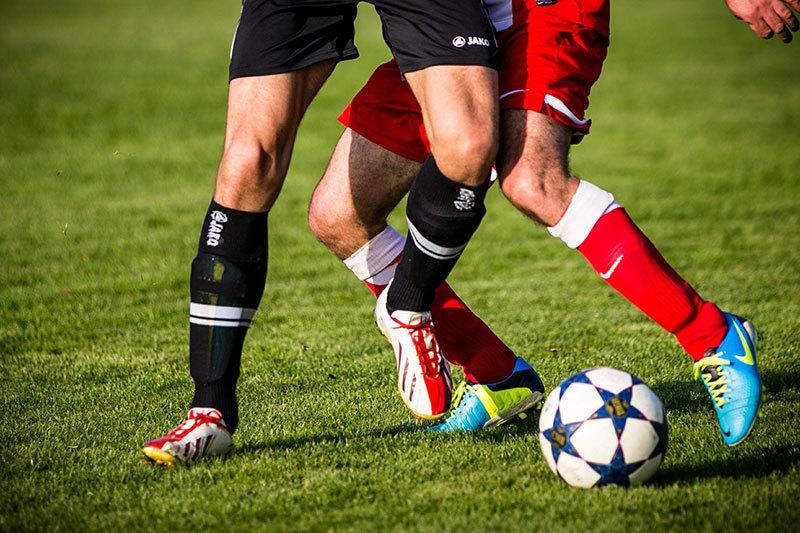 Voetbal-Duel