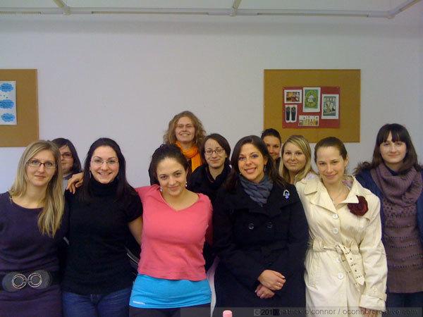 Students at Pecs