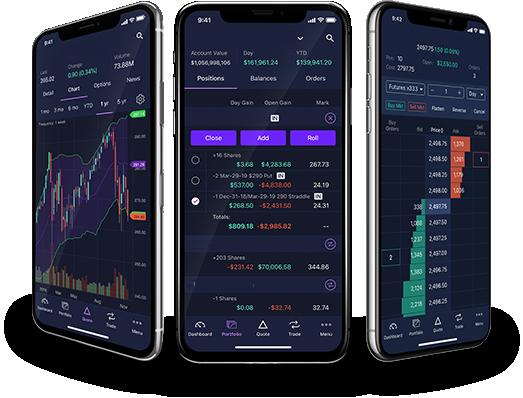 E trade app