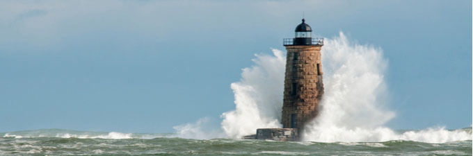 We must hone our skills - sea and lighthouse