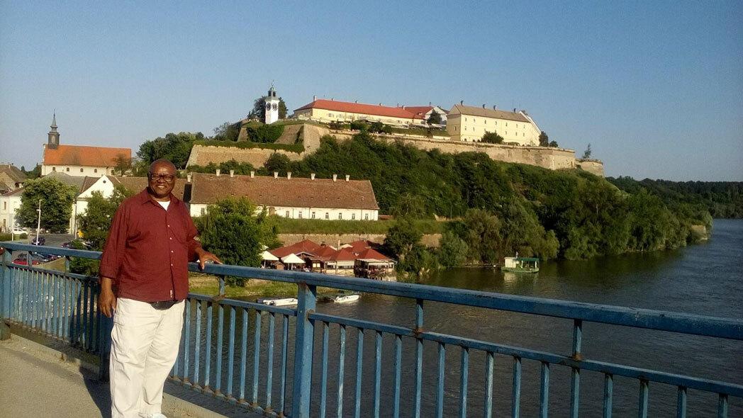Antonio Underwood in Serbia