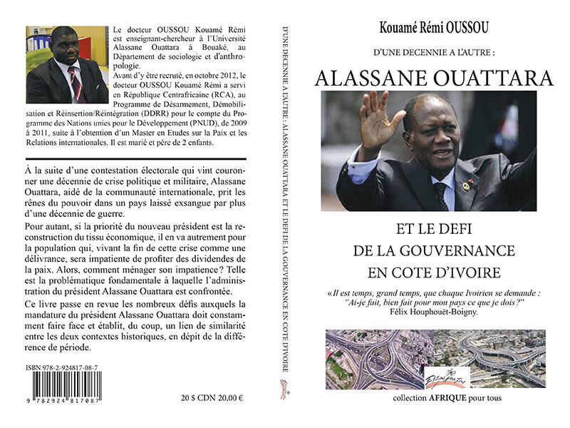Kouame Remi Oussou's book cover