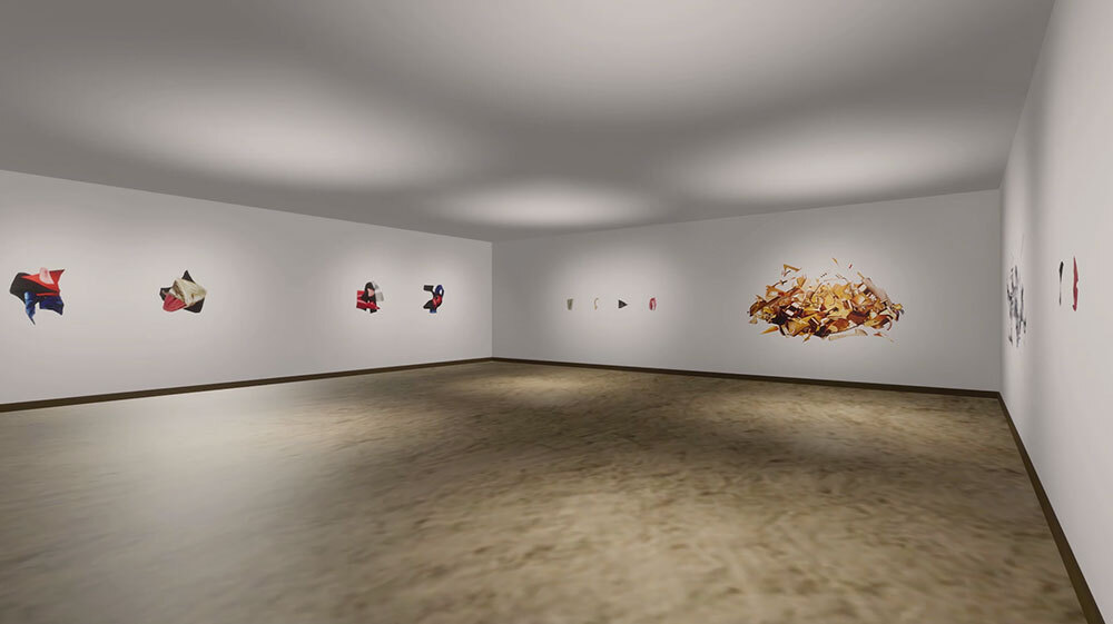Brita d'Agostino, Virtual Exhibition Still, 2020