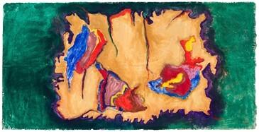 Planisfério l - Synthetic fresco