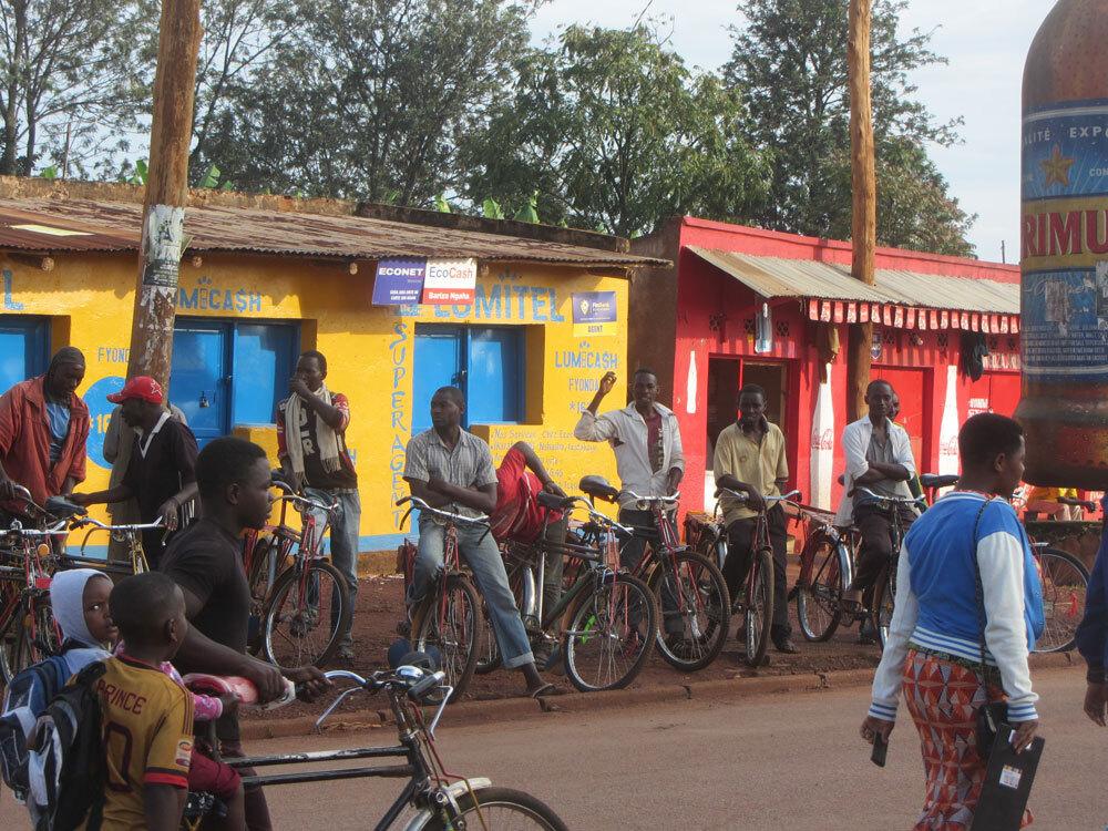 Image of young men in Burundi