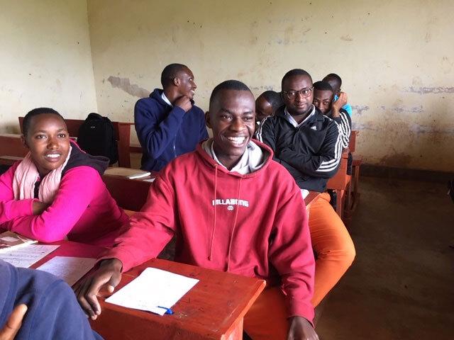 Image of a classroom in Burundi