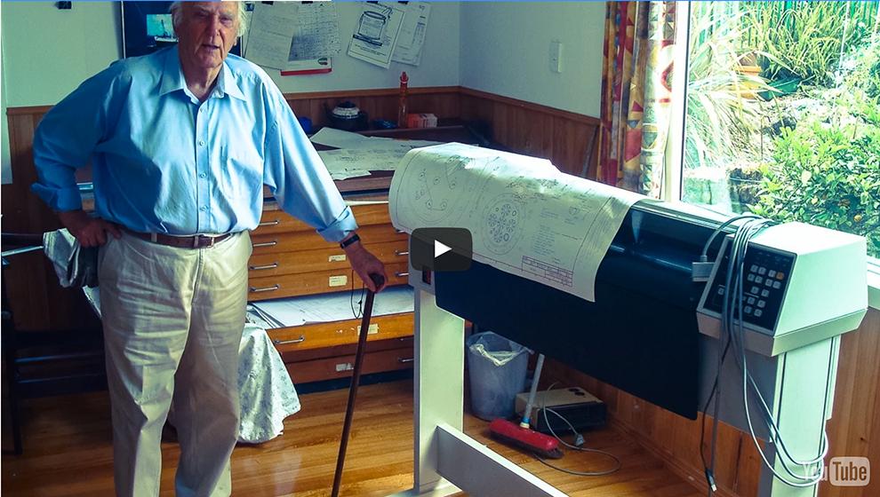 Noel Cunningham - der älteste CAD-Operator der Welt?