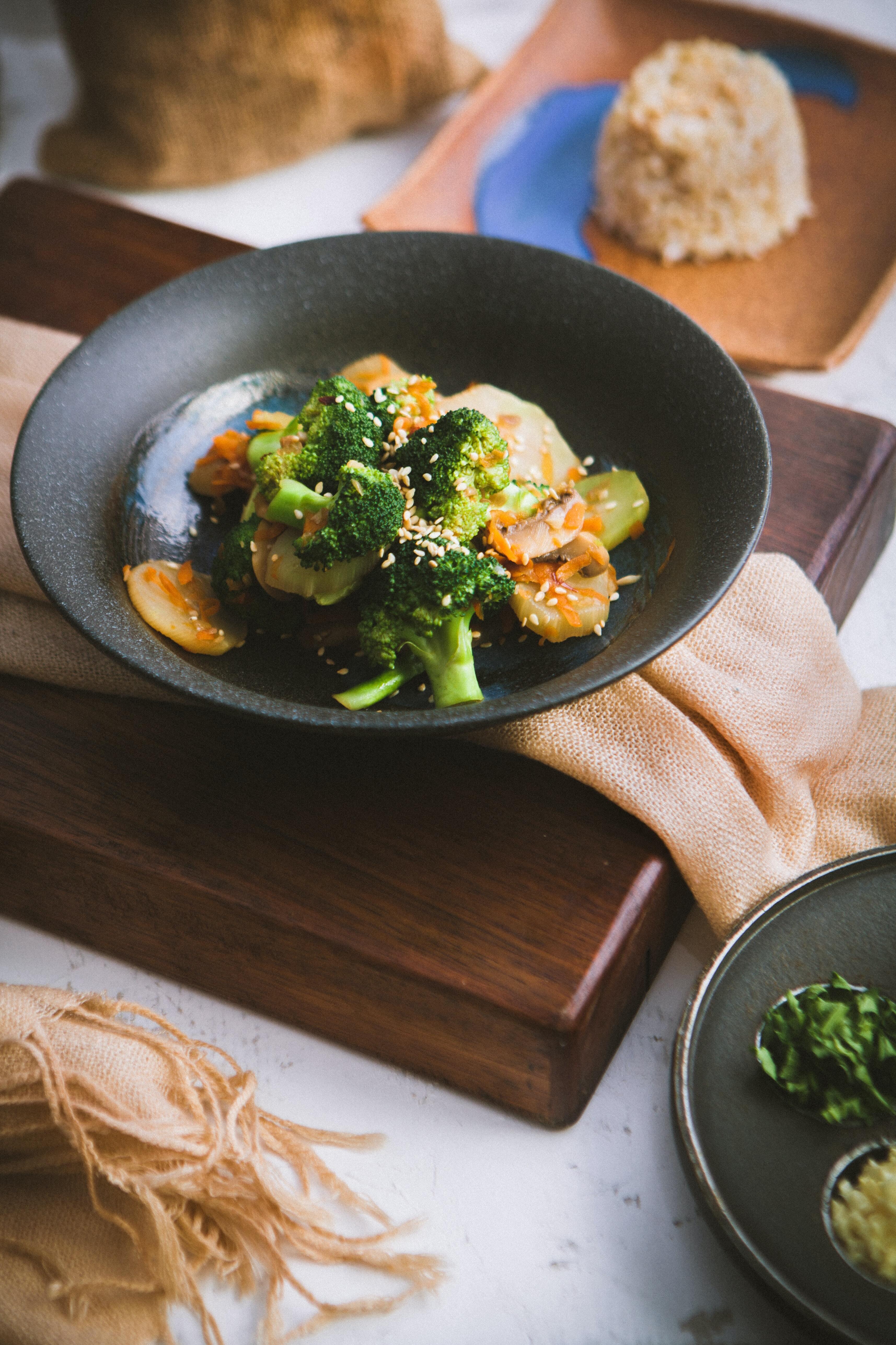 Broccoli dish, Photo by Andrei on Unsplash