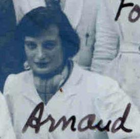 Alice Arnaud sur la photo de la 69e promo