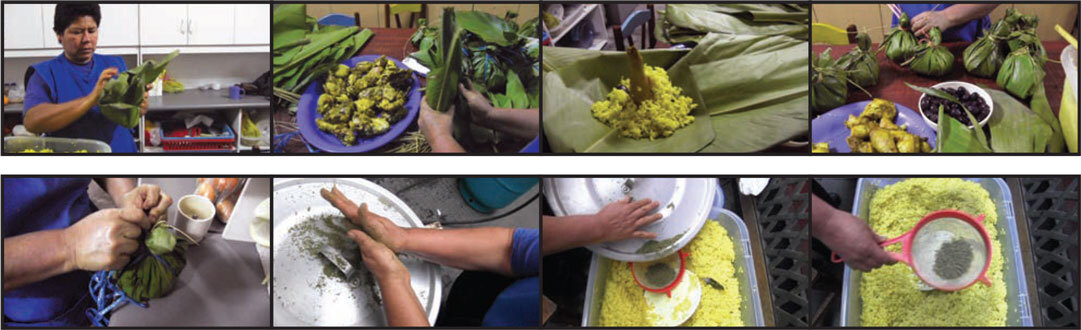 Screenshots from Maria Lino's videos