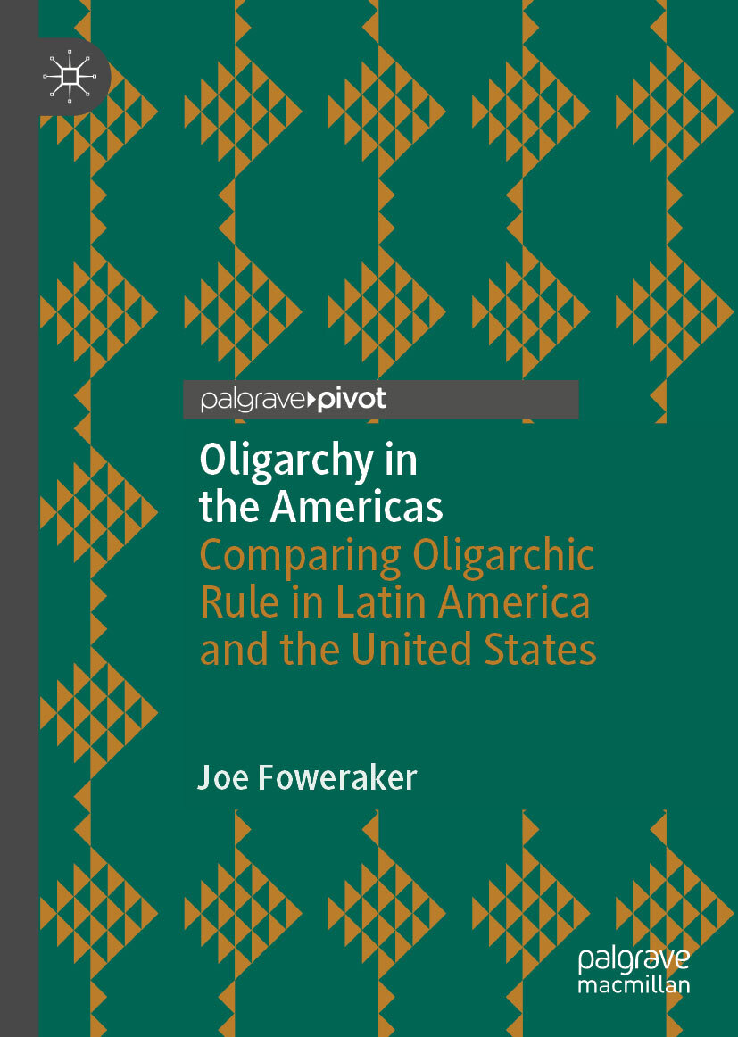 'Oligarchy in the Americas' book jacket