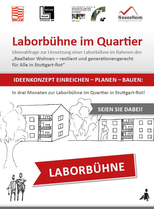 Aufruf: Ideenabfrage Laborbühne für Stuttgart-Rot