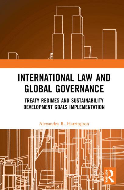 'International Law and Global Governance' book jacket