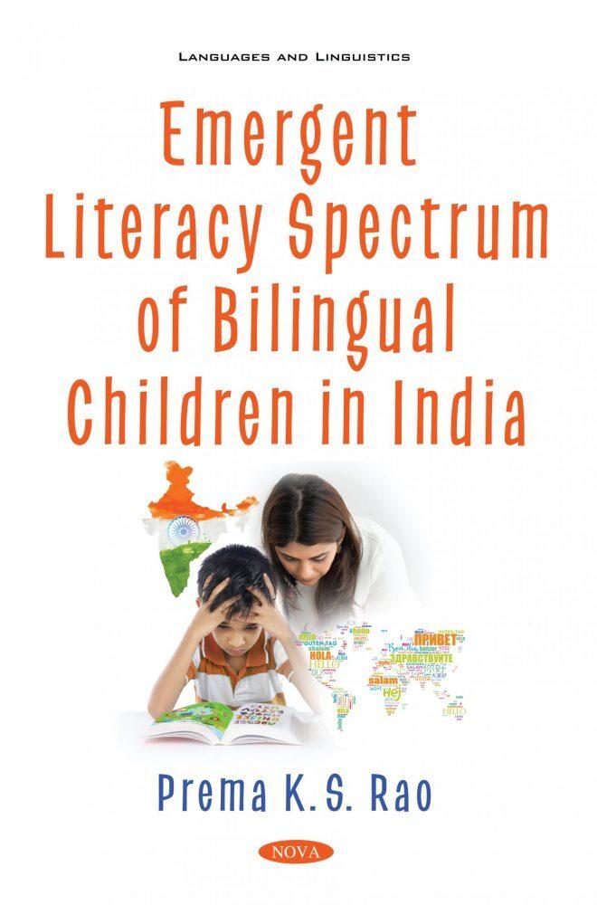'Emergent Literacy Spectrum of Bilingual Children in India' book jacket