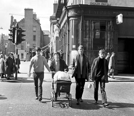Professor Keith Fox's charity walk, Edinburgh
