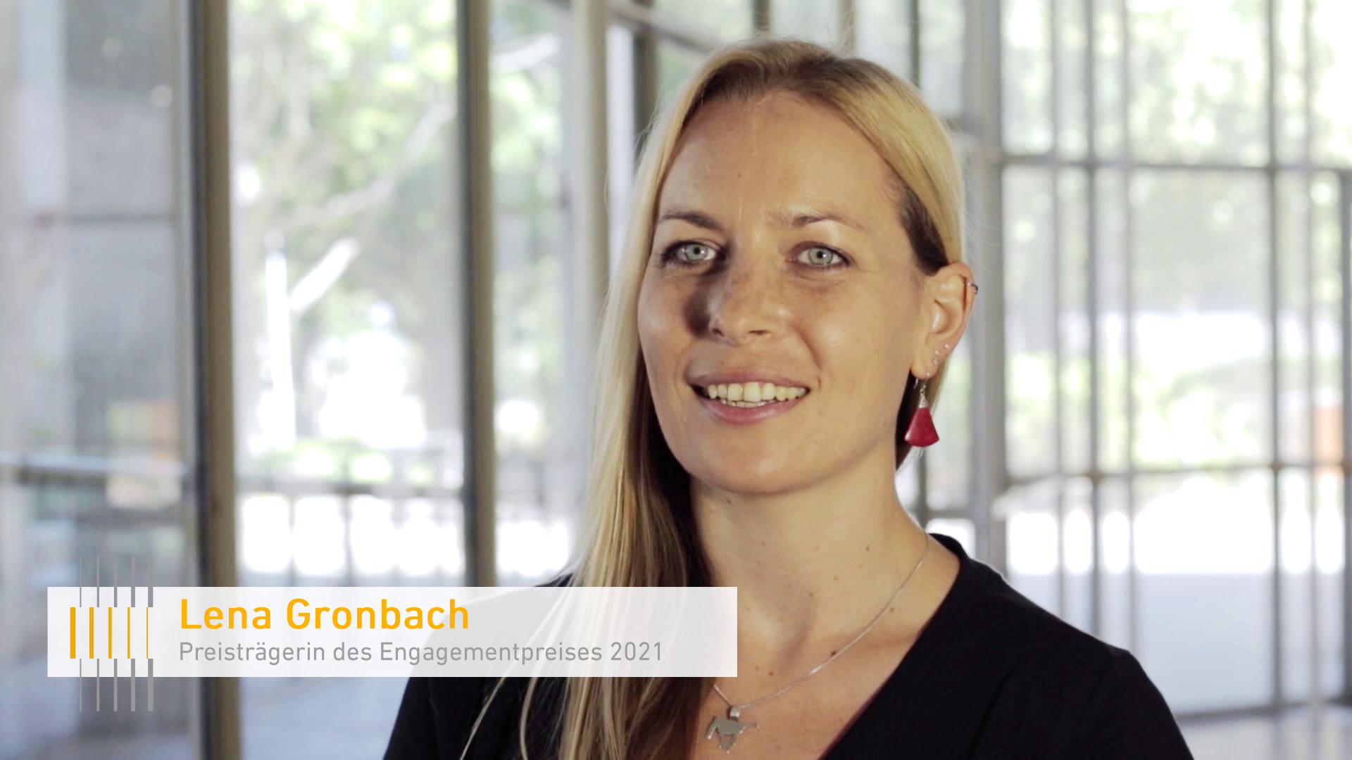 Alumna Lena Gronbach