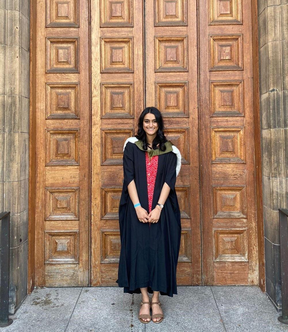 Edinburgh PhD Student Kalyani Pandya on Graduation Day