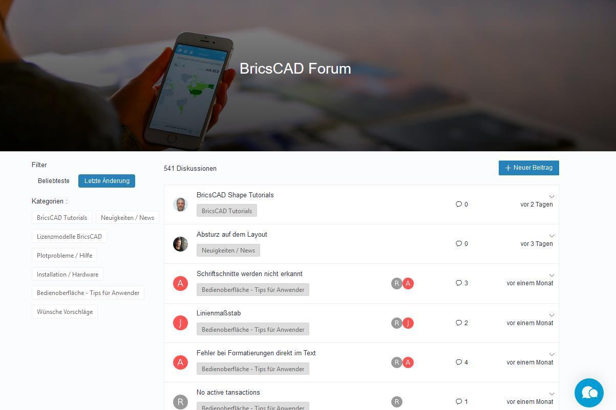 BricsCAD Forum